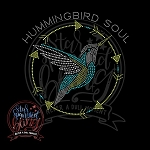 415 * Hummingbird Soul Spangle Transfer 10.25x10