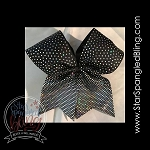 288 * Horizontal Fade Spangle Bling Cheer Bow Transfer Strips