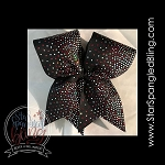 291 * Scallop Fade Spangle Bling Cheer Bow Transfer Strips