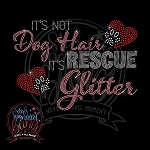 343 * Rescue Glitter Spangle Bling Rhinestone Style Transfer