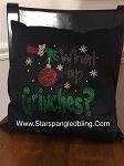 What Up Grinches Spangle Throw Pillow Cover 17x17